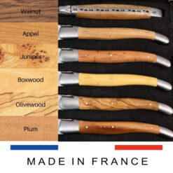 6 french wood laguiole handle