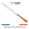 bread knife laguiole olivewood