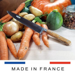 laguiole chef knife olive wood handle