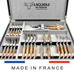 laguiole-cutlery-set-21-piece-olivewood