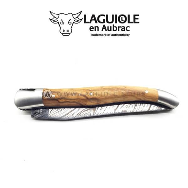 laguiole damas blade olivewood