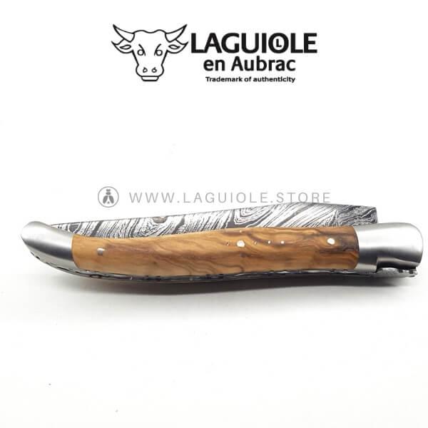 laguiole damas olivewood
