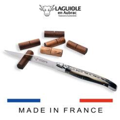 laguiole en aubrac knife holder in wood