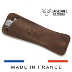 laguiole leather sleeve vintage