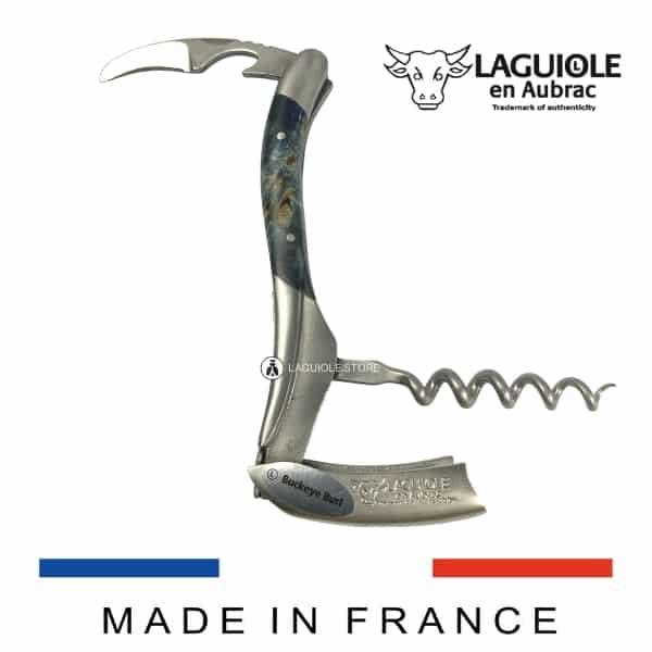 laguiole sommelier knife buckeye burl