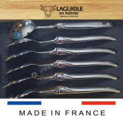 laguiole stainless steel soup spoons