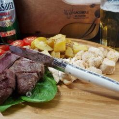 laguiole steak knife beef bone