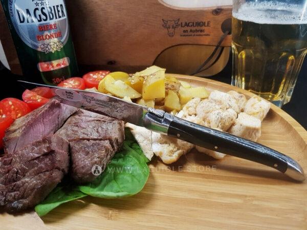 laguiole steak knife buffalo horn