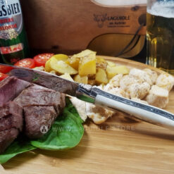 laguiole steak knife deer antler