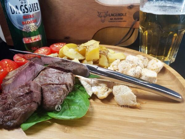 laguiole steak knives monobloc stainless steel