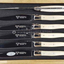 laguiole table knives beef bone set of 6