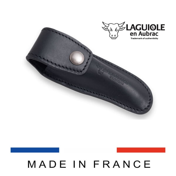 leather belt sheath black