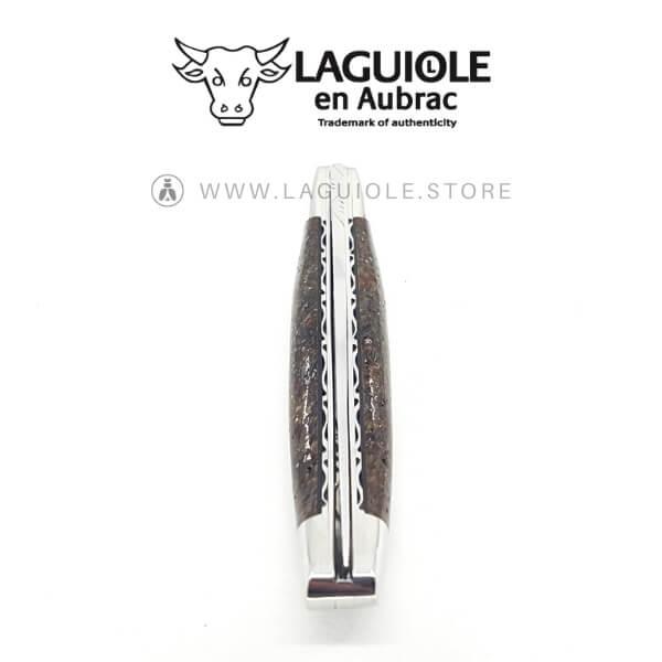 mammoth bone laguiole knife double plate