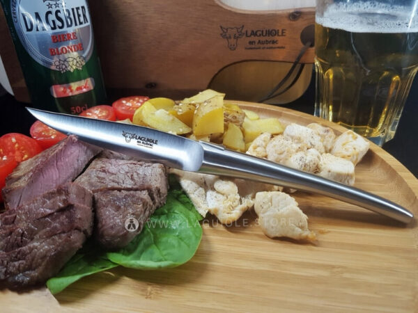 monobloc satin monobloc laguiole steak knife