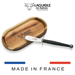 laguiole butter knife and butter dish
