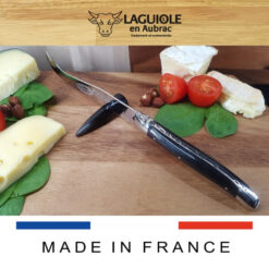 laguiole en aubrac cheese knife ebony wood