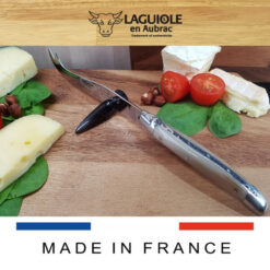 laguiole en aubrac cheese knife horn tip handle