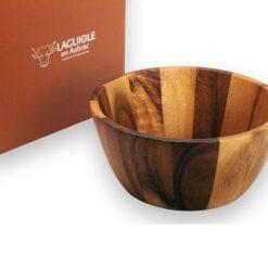 laguiole en aubrac salad bowl and box