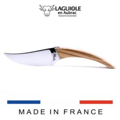 laguiole le buron cheese knife olivewood handle