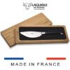 laguiole pizza knife with serrated blade