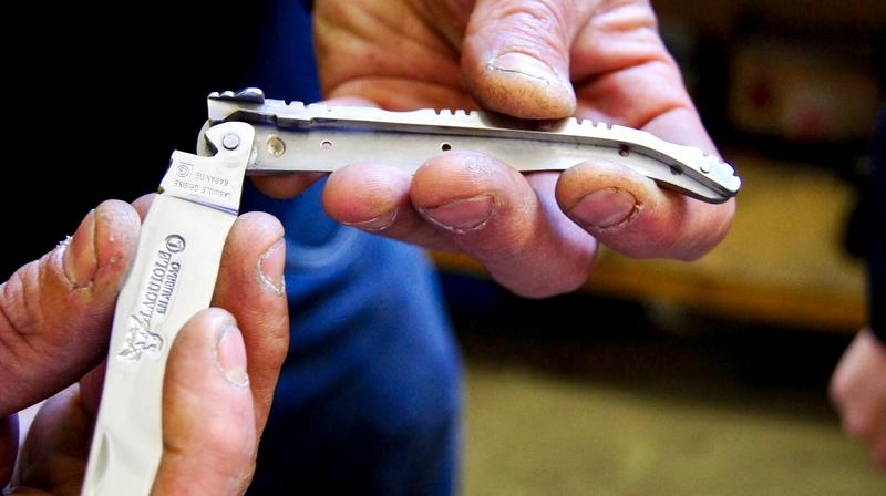 making a laguiole knife