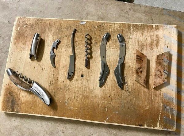 laguiole en aubrac knife and corkscrews repair