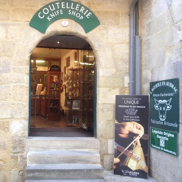 laguiole store in saint emilion