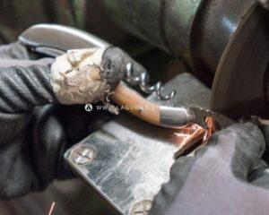 manufacturing a laguiole en aubrac corkscrew