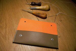 laguiole en aubrac leather sheaths
