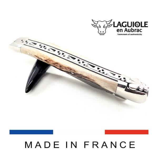 laguiole knife deer horn