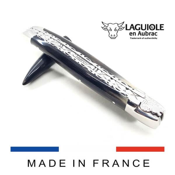 laguiole knife horn tip