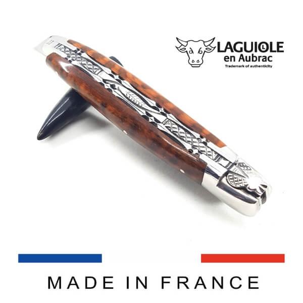 laguiole knife snakewood
