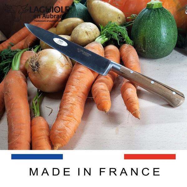 laguiole knife walnut wood handle