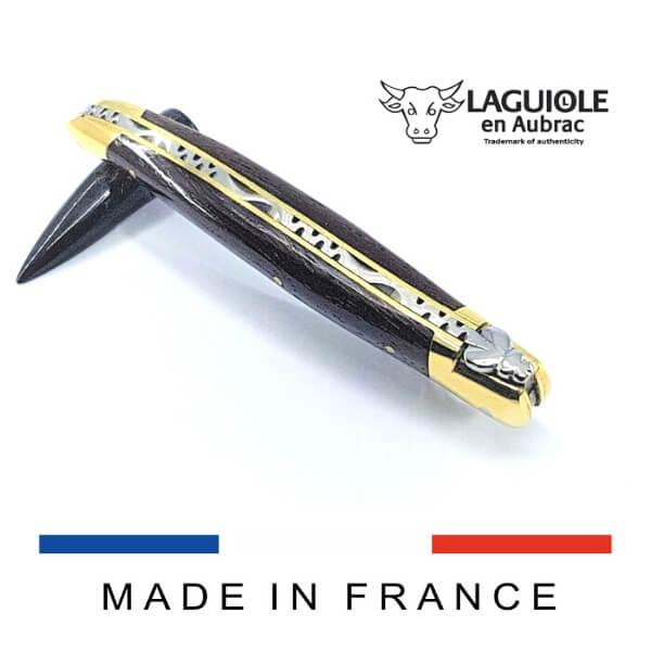 laguiole knife wenge handle