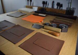laguiole leather sheath