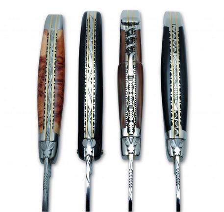 popular knife handle materials