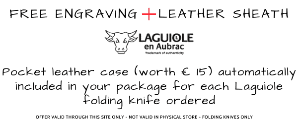 free engraving and sheath