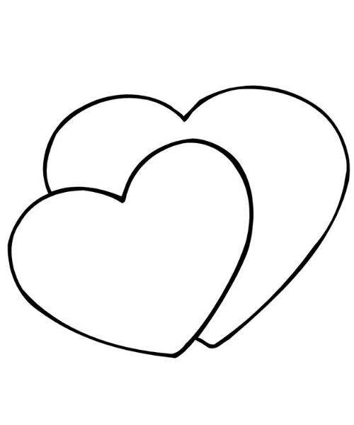 2 heart pattern